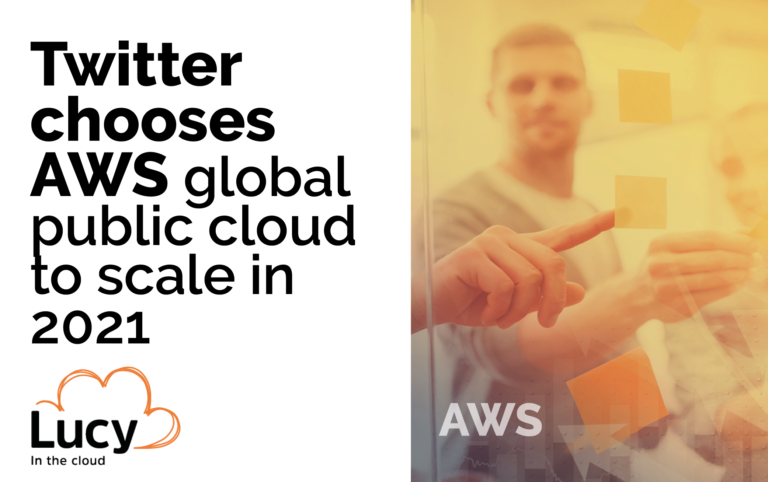 Twitter chooses AWS global public cloud to scale in 2021