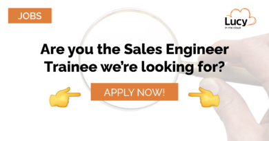 we're hiring a sales engineer trainee at lucy in the cloud